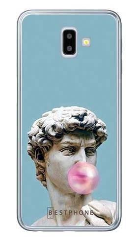 Etui dawid z gumą na Samsung Galaxy J6 Plus