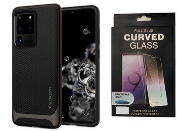 Etui pancerne SPIGEN NEO HYBRID Samsung Galaxy S20 ULTRA GUNMETAL +szkło UV