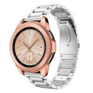 opaska pasek bransoleta (20mm) STAINLESS Samsung Watch ACTIVE 1/2 40/44mm SILVER