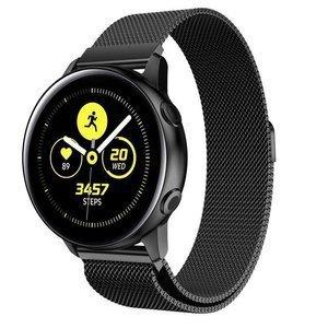 opaska pasek bransoleta (22mm) MILANESEBAND Samsung Galaxy Watch 3 45mm BLACK