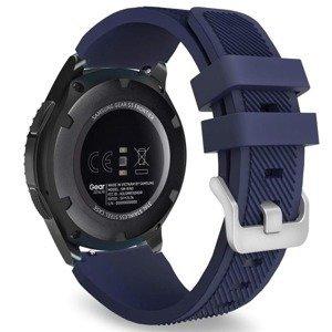 opaska pasek bransoleta (22mm) SOFTBAND Samsung Galaxy Watch 3 45mm MIDNIGHT BLUE