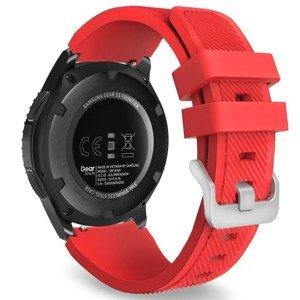 opaska pasek bransoleta (22mm) SOFTBAND Samsung Galaxy Watch 3 45mm RED