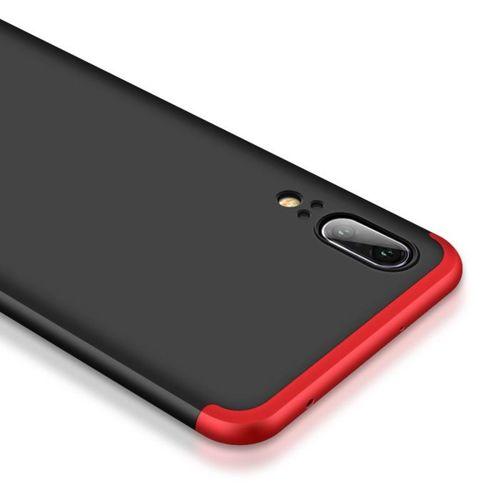 360 Protection etui na całą obudowę przód + tył Huawei P20 niebieski