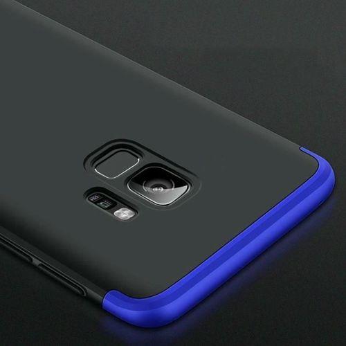 360 Protection etui na całą obudowę przód + tył Samsung Galaxy S9 G960 czarno-niebieski