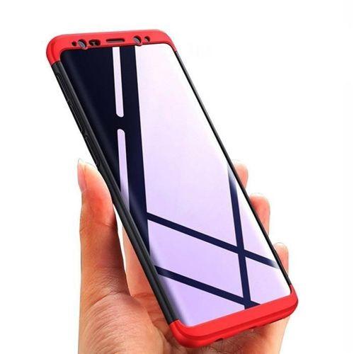360 Protection etui na całą obudowę przód + tył Samsung Galaxy S9 G960 złoty