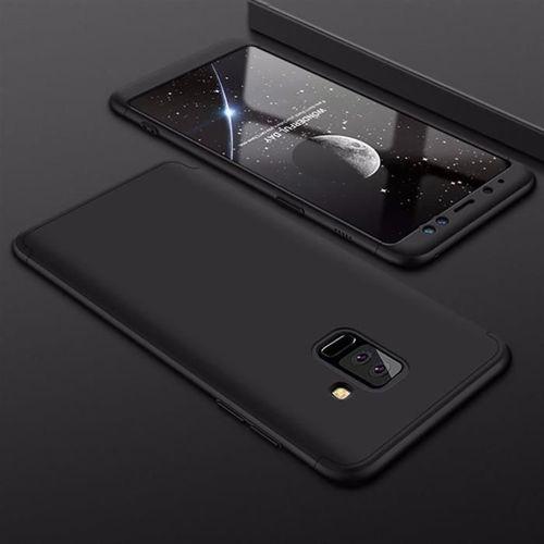 360 Protection etui na całą obudowę przód + tył Samsung Galaxy S9 Plus G965 czarny