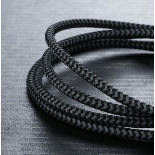 BENKS AMBER MFI LIGHTNING kabel USB 120CM BLACK