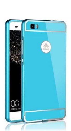 BUMPER ALU Huawei P8 LITE niebieski