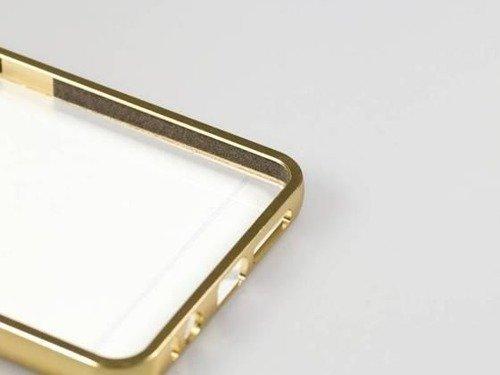 BUMPER MIRROR Microsoft Lumia 550 srebrny