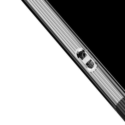 Baseus Armor Case przezroczyste etui pokrowiec z wzmocnioną ramką Samsung Galaxy S9 Plus G965 czarny (WISAS9P-YJ01)