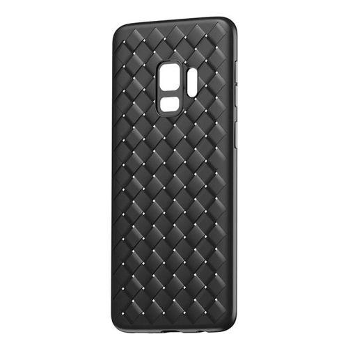 Baseus BV Weaving Case designerskie żelowe etui pokrowiec Samsung Galaxy S9 G960 czarny (WISAS9-BV01)