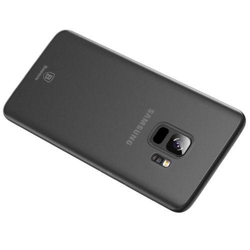 Baseus Wing Case ultracienkie etui pokrowiec Samsung Galaxy S9 G960 szary (WISAS9-01)