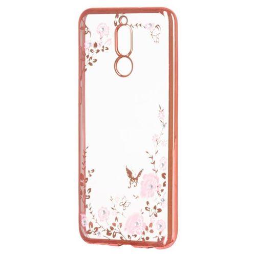 Bloomy Case designerskie etui żelowy pokrowiec Huawei Mate 10 Lite różowy