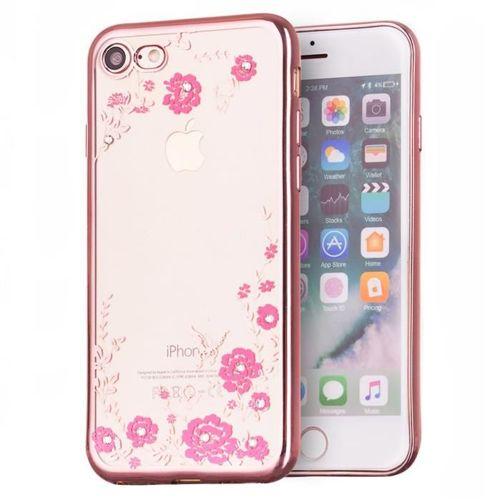 Bloomy Case designerskie etui żelowy pokrowiec Xiaomi Redmi 4X różowy