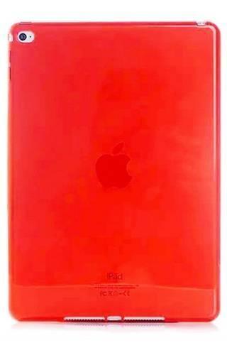 CLEAR iPad AIR czerwony