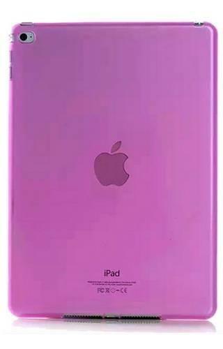CLEAR iPad AIR różowy