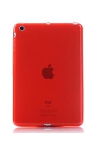 CLEAR iPad MINI czerwony