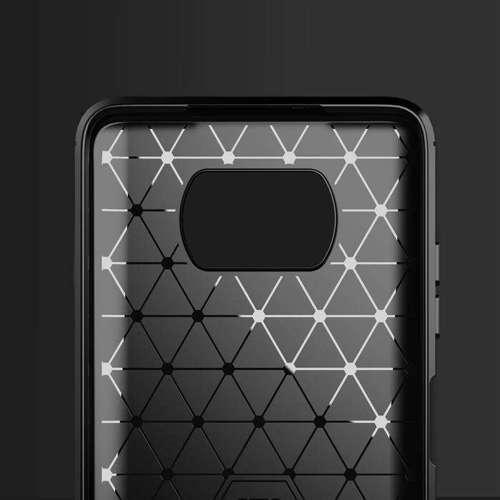 Carbon Case elastyczne etui pokrowiec Xiaomi Poco X3 NFC / Poco X3 Pro czarny