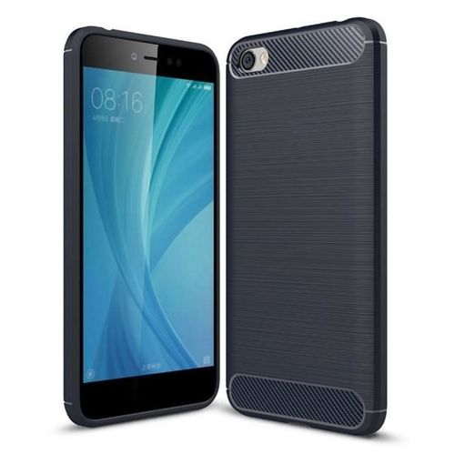 Carbon Case elastyczne etui pokrowiec Xiaomi Redmi Note 5A niebieski