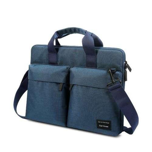 Cartinoe Wei Ling torba na laptopa 15,6'' ochrona Anti RFID niebieski