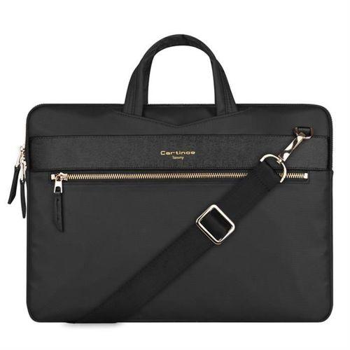 Cartinoe torba na laptopa London Style Series 13,3 cala czarna