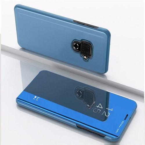 Clear View Case futerał etui z klapką Huawei Mate 30 Lite niebieski