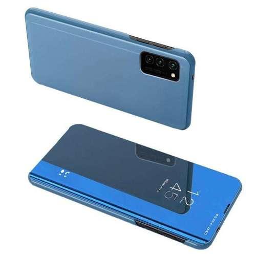 Clear View Case futerał etui z klapką Huawei P Smart 2021 niebieski