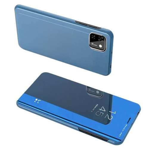 Clear View Case futerał etui z klapką Huawei Y5p niebieski