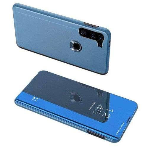 Clear View Case futerał etui z klapką Motorola Moto G8 Power niebieski