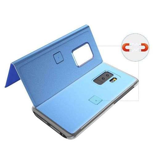 Clear View Case futerał etui z klapką Samsung Galaxy S20 Plus czarny