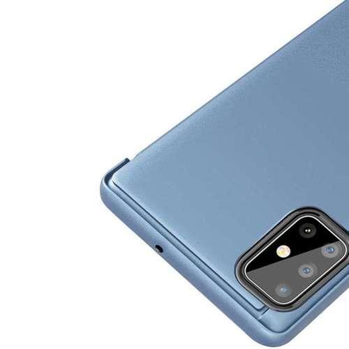 Clear View Case futerał etui z klapką Samsung Galaxy S20 różowy