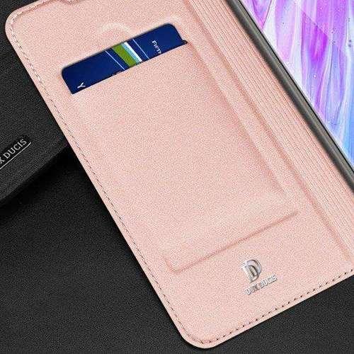 DUX DUCIS Skin Pro kabura etui pokrowiec z klapką Samsung Galaxy S20 Plus niebieski