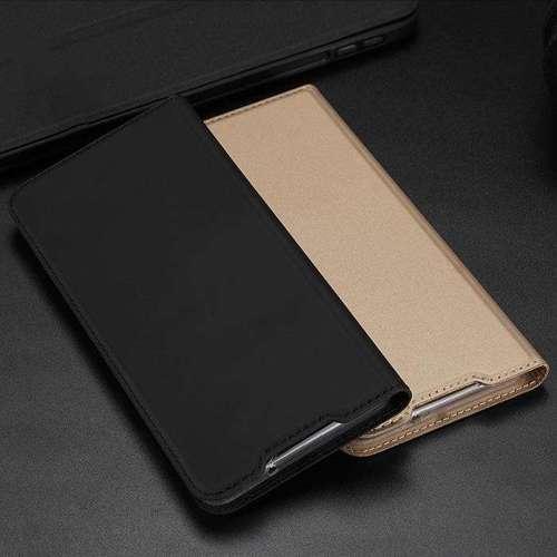 DUX DUCIS Skin Pro kabura etui pokrowiec z klapką Samsung Galaxy S20 Plus złoty