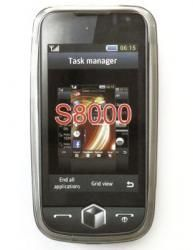 Etui BACK CASE LUX - SAMSUNG S8000 JET