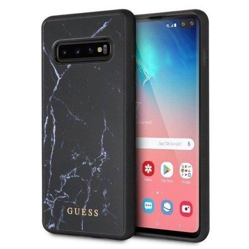 Etui Guess GUHCS10PHYMABK S10 Plus G975 czarny/black hard case Marble