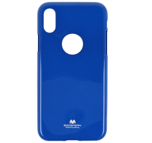 Etui Jelly Mercury IPHONE X niebieskie