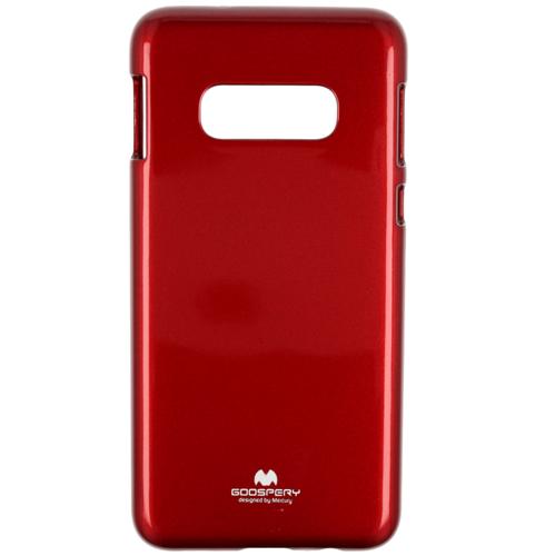 Etui Jelly case Mercury Samsung Galaxy S10e czerwone