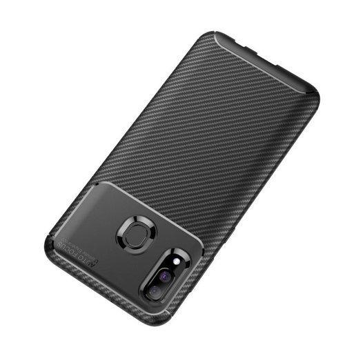 Etui Pancerne Carbon Fiber SAMSUNG GALAXY A40 czarne