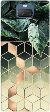 Etui ROAR JELLY geometryczna roślina na Sony Xperia 10