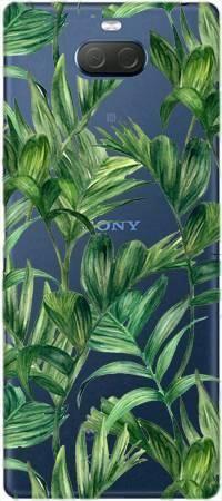 Etui ROAR JELLY liście tropikalne na Sony Xperia 10