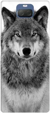 Etui ROAR JELLY spokojny wilk na Sony Xperia 10
