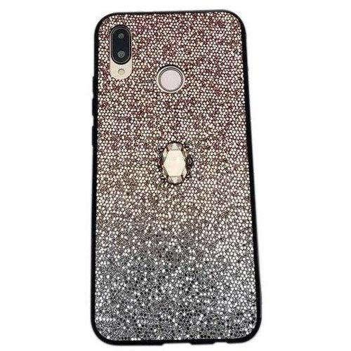 Etui SAMSUNG GALAXY A20E Stone Glitter złote