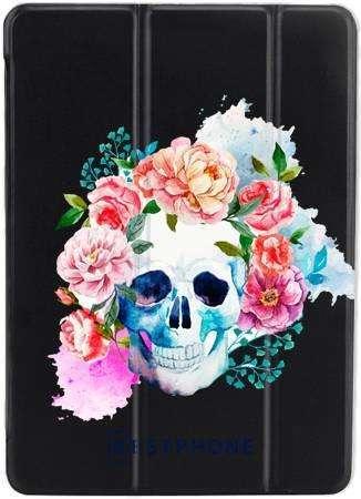 Etui SMARTCASE PC kwiatowa czacha na Samsung Galaxy Tab A7 10.4'