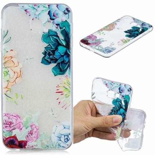 Etui Slim Art SAMSUNG J4+ J4 PLUS  kolorowe kwiaty