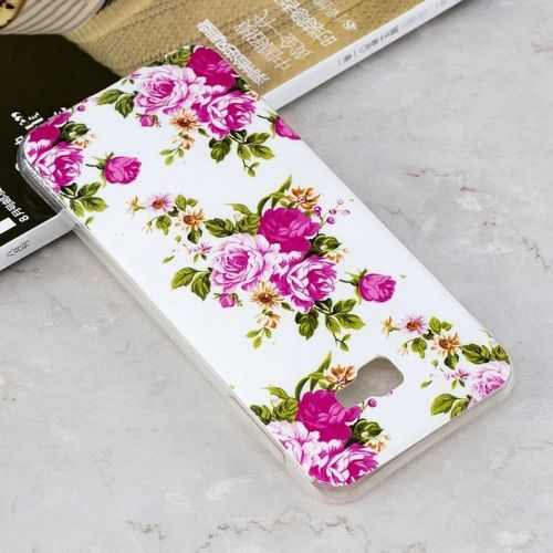 Etui Slim Art SAMSUNG J4+ J4 PLUS żywy kwiat