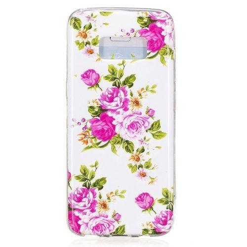 Etui Slim Art Samsung Galaxy S8 kwitnące peanie
