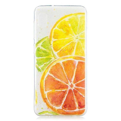 Etui Slim case Art SAMSUNG GALAXY A10 kolorowane cytryny