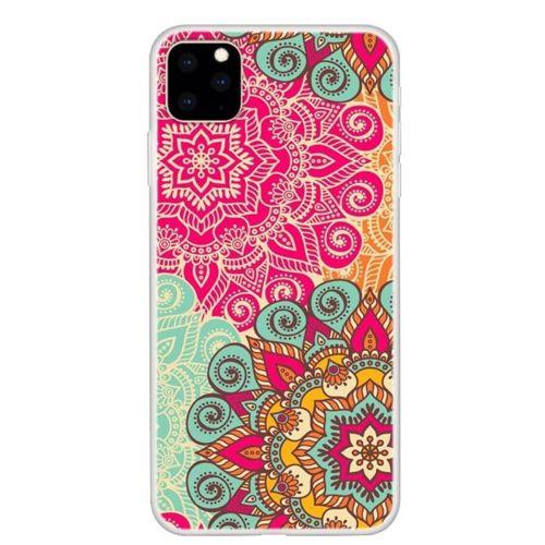 Etui Slim case Art Wzory IPHONE 11 kolorowany kwiat mandala