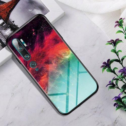 Etui XIAOMI MI NOTE 10 Szklane Glass case Gradient Color nebula