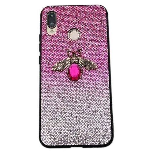 Etui XIAOMI REDMI 7A Bee Glitter różowe